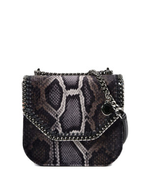 Stella Mccartney: cross body bags - Mini Falabella faux leather bag