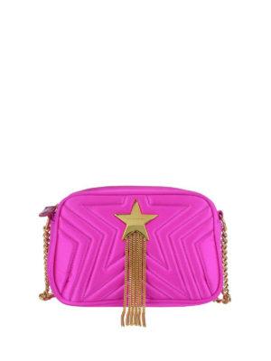 STELLA McCARTNEY: borse a tracolla - Borsa Mini Stella Star fucsia