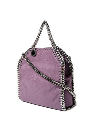 Stella Mccartney: cross body bags online - Amethyst Tiny Falabella bag