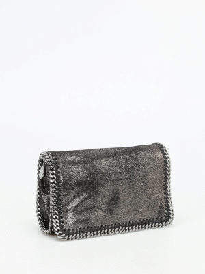 Stella Mccartney: cross body bags online - Falabella foldover crossbody