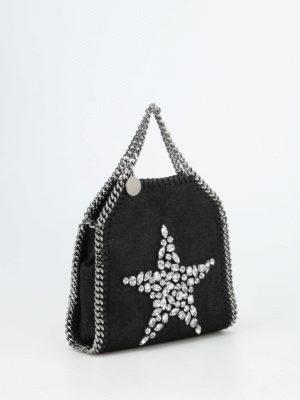 Stella Mccartney: cross body bags online - Falabella Tiny embellished bag
