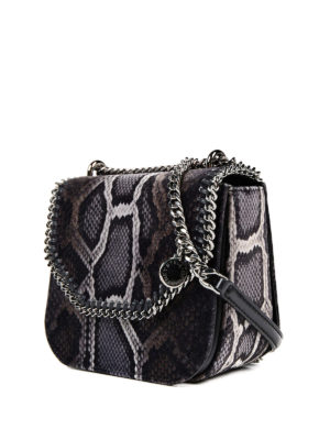 Stella Mccartney: cross body bags online - Mini Falabella faux leather bag