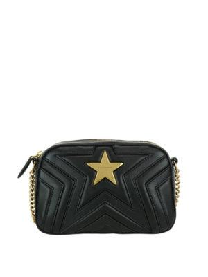 STELLA McCARTNEY: borse a tracolla - Tracolla Stella Star in Alter-nappa matelassé