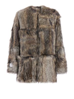 Stella Mccartney: Fur & Shearling Coats - Elina faux fur coat