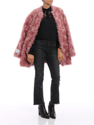 Stella Mccartney: Fur & Shearling Coats online - Elina eco-friendly fur coat