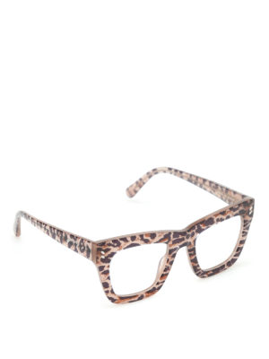 Stella Mccartney: glasses - Animal print glasses