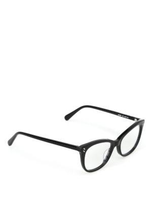 STELLA McCARTNEY: Occhiali - Occhiali da vista in bio-materiale nero
