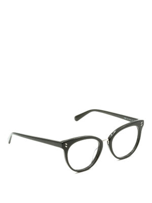 Stella Mccartney: glasses - Black cat eye optical glasses