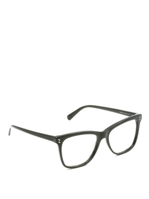 Stella Mccartney: glasses - Black optical glasses