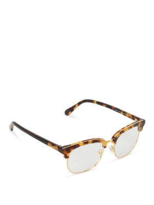 Stella Mccartney: glasses - Chain detailed eye glasses