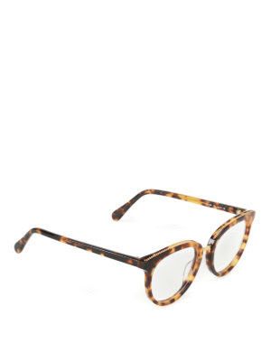 Stella Mccartney: glasses - Chain detailed havana glasses
