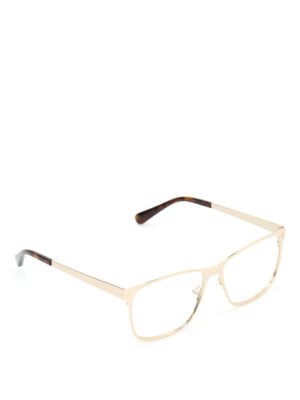 Stella Mccartney: glasses - Gold-tone glasses