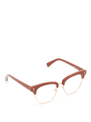 Stella Mccartney: glasses - Gold-tone rims glasses