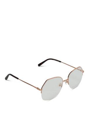 STELLA McCARTNEY: Occhiali - Occhiali da vista con mezza cornice