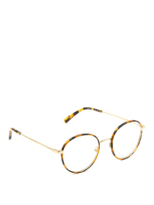 Stella Mccartney: glasses - Havana round optical glasses