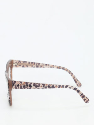 Stella Mccartney: glasses online - Animal print glasses