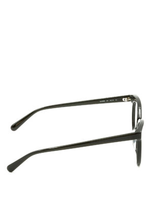 Stella Mccartney: glasses online - Black cat eye optical glasses