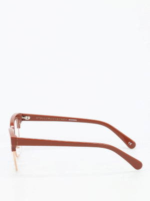 Stella Mccartney: glasses online - Gold-tone rims glasses