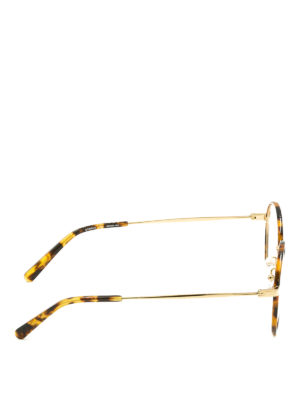 Stella Mccartney: glasses online - Havana round optical glasses