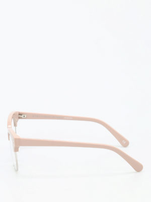 Stella Mccartney: glasses online - Silver-tone rims glasses
