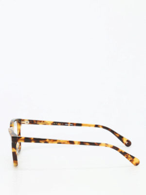 Stella Mccartney: glasses online - Tortoise bio-acetate sunglasses