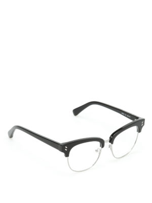 Stella Mccartney: glasses - Silver-tone rims glasses