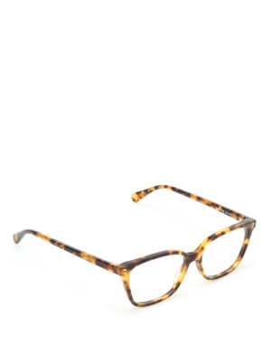 Stella Mccartney: glasses - Tortoise bio-acetate sunglasses