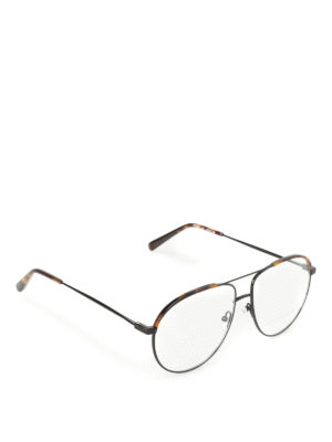 Stella Mccartney: glasses - Tortoise detailed optical glasses