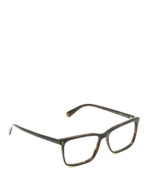 Stella Mccartney: glasses - Tortoise square optical glasses