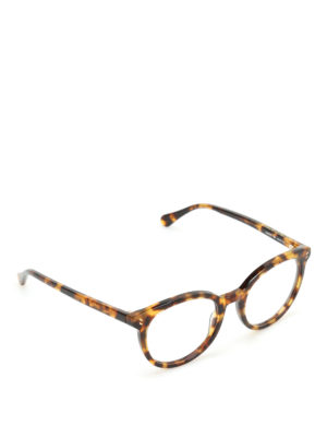 Stella Mccartney: glasses - Tortoiseshell round sunglasses