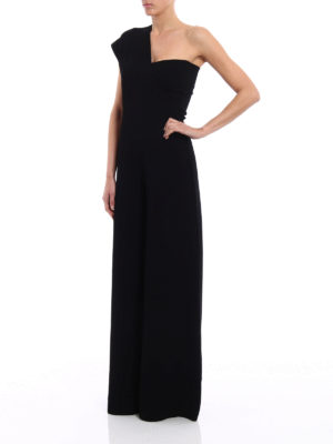 Stella Mccartney: jumpsuits online - Jersey one-shoulder jumpsuit