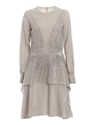 Stella Mccartney: knee length dresses - Bella patterned silk dress