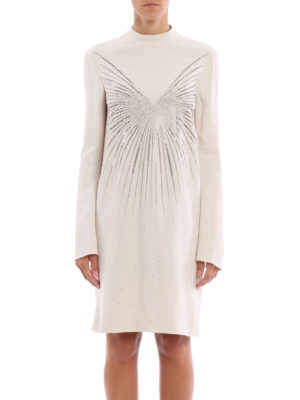 Stella Mccartney: knee length dresses online - Cayla embellished cady dress