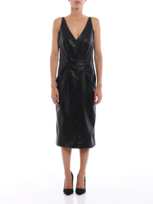 Stella Mccartney: knee length dresses online - Skin Free Skin sleeveless dress
