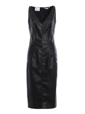 Stella Mccartney: knee length dresses - Skin Free Skin sleeveless dress