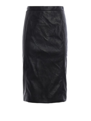 Stella Mccartney: Knee length skirts & Midi - Mansela-Skin Free Skin pencil skirt