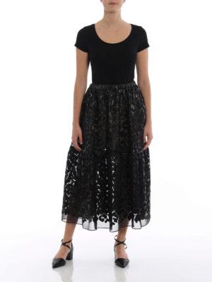 Stella Mccartney: Knee length skirts & Midi online - Animalier Leopard midi skirt
