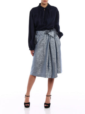 Stella Mccartney: Knee length skirts & Midi online - Emmy lurex knee length skirt