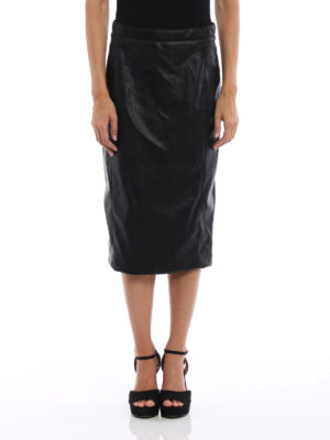 Stella Mccartney: Knee length skirts & Midi online - Mansela-Skin Free Skin pencil skirt