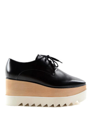 Stella Mccartney: lace-ups shoes - Elyse maxi-sole lace-ups