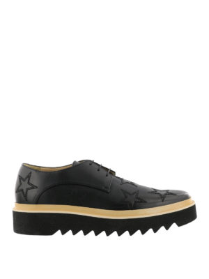 Stella Mccartney: lace-ups shoes - Luis embroidered stars Derby shoes