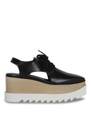 Stella Mccartney: lace-ups shoes - Maxi-sole lace-ups