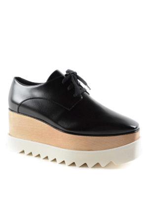 Stella Mccartney: lace-ups shoes online - Elyse maxi-sole lace-ups