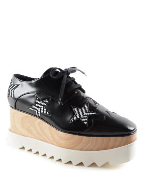 Stella Mccartney: lace-ups shoes online - Elyse maxi-sole lace-ups