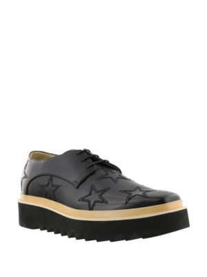 Stella Mccartney: lace-ups shoes online - Luis embroidered stars Derby shoes