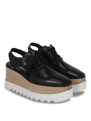 Stella Mccartney: lace-ups shoes online - Maxi-sole lace-ups