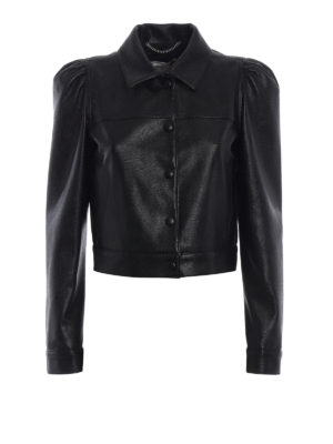 Stella Mccartney: leather jacket - Emmalee Alter-Napa jacket