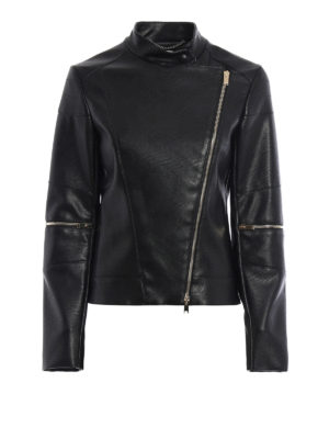 Stella Mccartney: leather jacket - Victoire faux leather jacket