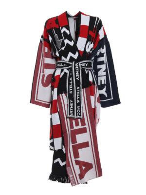 STELLA McCARTNEY: cappotti lunghi - Cappotto asimmetrico All is Love
