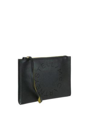 STELLA McCARTNEY: pochette online - Clutch Stella Logo nera